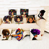 Image of African Black Women Style Printed Cushion Cover Throw Pillow Covers