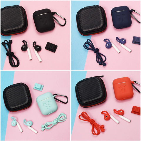 Wireless Airpods Case For Headphones  Accessories 6 Piece Set