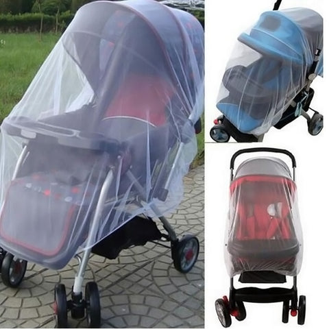 Baby Stroller Mosquito Insect Shield Net Protection Mesh