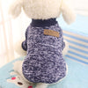 Image of Classic Winter Warm Pet Fashion Soft Sweater Jacket Coat Clothing for Dogs Cats and  Puppies