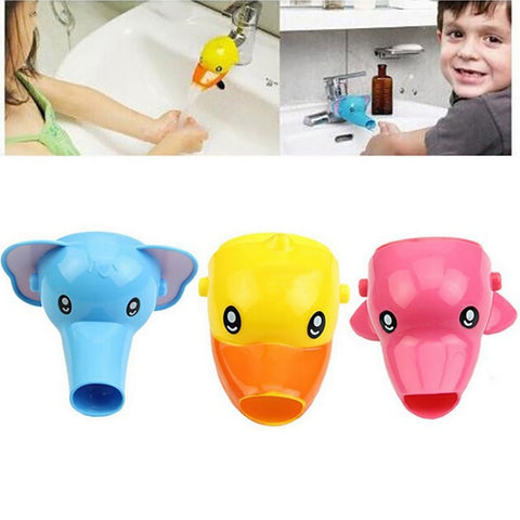 Faucet Extender Toddler Kid Bathroom Children Hand Wash Tools