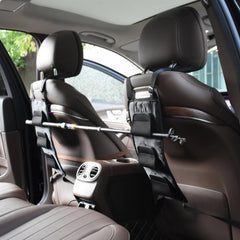 Fishing Oxford Fabric Rod Holder Carrier For Vehicle Backseat Holds 3 Poles
