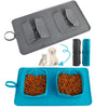 Image of Portable Pet Dog Collapsible Silicone Bowl