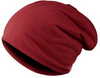 Image of Top Quality Solid Color Hip-hop Slouch Unisex Knitted Cap  - 10 Colors