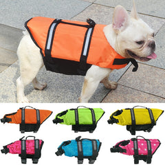 Dog Life Vest Reflective Safety Life Jacket for Swimming