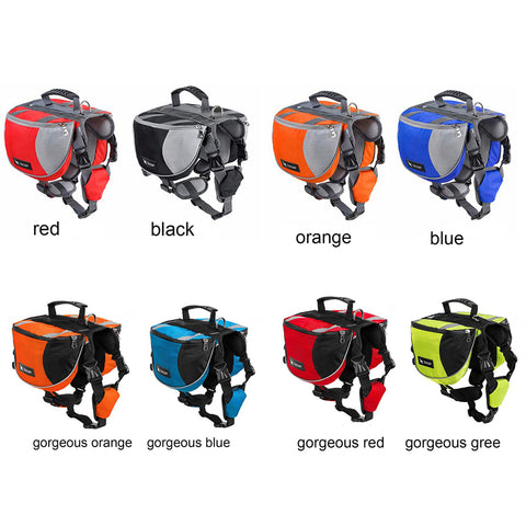 Dog Harness  for Medium-Large Outdoor Carrier Vest  Backpack