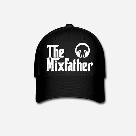 The Mix Father Customized Embroidered  Disk Jockey DJ Cap