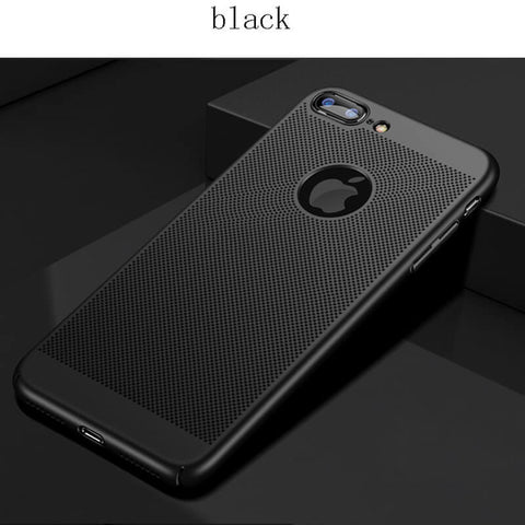 Heat Dissipation Cool Matte Hard Case For iPhone 5 5s SE -  XS MAX XR 11 Pro