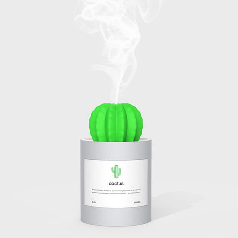 Cute Cactus Ultrasonic Humidifiers Aromatherapy Diffuser