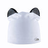Image of Velvet Beanie Cap Skullies with Rhinestone Cat Ears  Women's Fall-Winter Hat