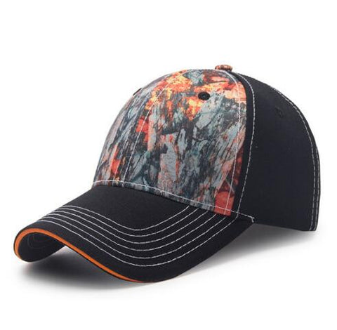 Cotton Underwood Hunter Fishing Cap Adjustable Camo Camouflage Outdoor Hats