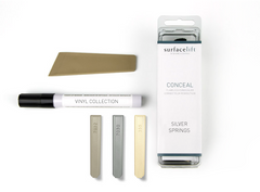Conceal kit to repair minor scratches