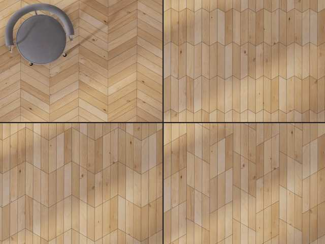 Chevron Hardwood Optional Configurations