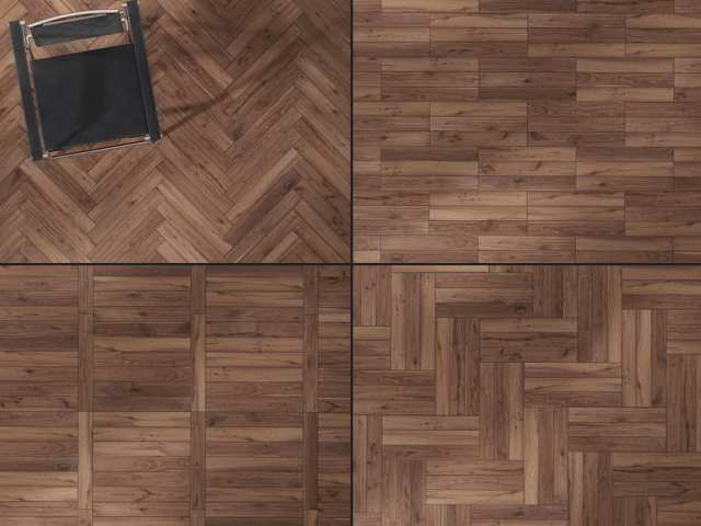 Herringbone Hardwood Optional Configurations