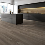 Amarosa Grande Caldo Oak Hardwood in Minimalist Kitchen Room Scene