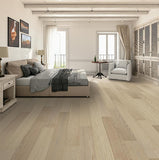 Amarosa Grande Puro Oak Hardwood in Bedroom Room Scene