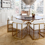 Louis XIV Champagne French White Oak Parquet Hardwood in a Vancouver Sales Centre