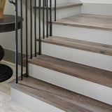 Cosmopolitan Charlie European Oak Hardwood installed on Staircase