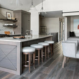 Cosmopolitan Charlie European Oak Hardwood in Whistler Kitchen