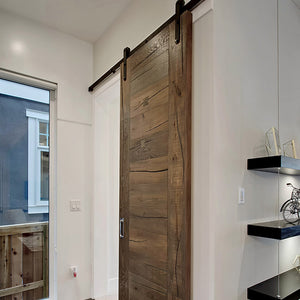 Farmhouse Chateauneuf European Oak Hardwood made into a Barn Door