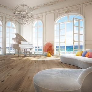 Cosmopolitan Chateau European Oak Hardwood in an Ocean View Room