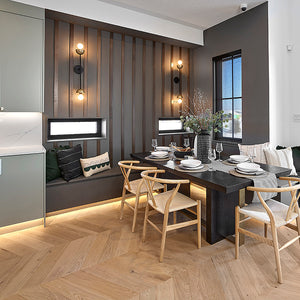 Cosmopolitan | Naked | European Oak | Chevron