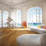 Cosmopolitan Old Money European Oak Hardwood in an Ocean View Setting