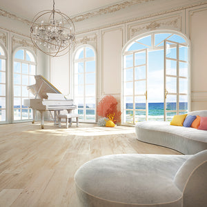 Cosmopolitan Rome European Oak Hardwood in an Ocean View Room