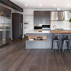 Cosmopolitan Downward Dog European Oak Hardwood in Edmonton Luxury Home