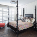 Farmhouse Escambert European Oak Hardwood in a bedroom