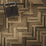 Farmhouse Compiano European Oak Hardwood in Alternative Herringbone Configuration