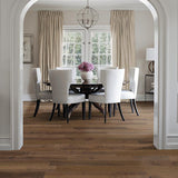 French Impressions Disaronno Hickory Hardwood in Traditional Dining Room