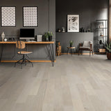 French Impressions Chardonnay Oak Hardwood in Office Space