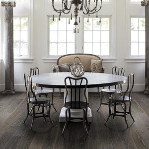 French Impressions Fontainebleau Oak Hardwood in Dining Room