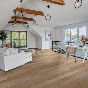 French Impressions Montresor Maple Hardwood in a bonus room