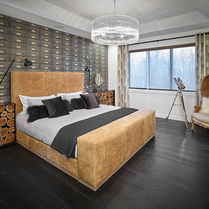 Cosmopolitan Gatsby European Oak Hardwood in Edmonton Bedroom