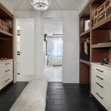 Cosmopolitan Gatsby European Oak Hardwood in Edmonton Closet