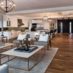 Cosmopolitan Gatsby European Oak Hardwood in an Open Space