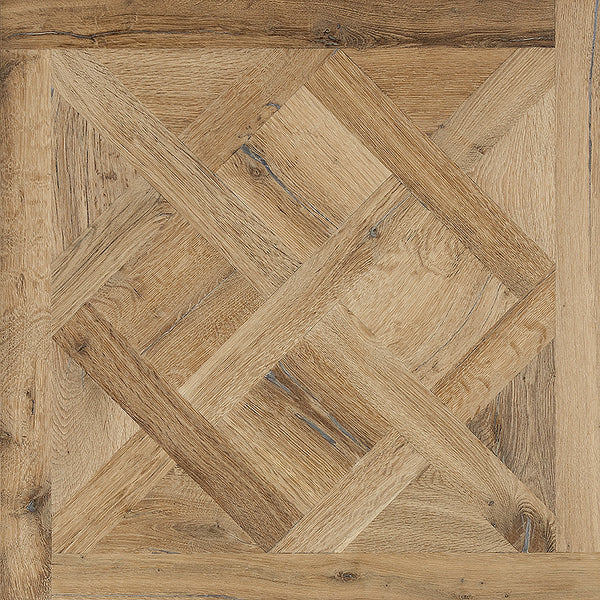 Louis XIV Champagne French White Oak Parquet Hardwood