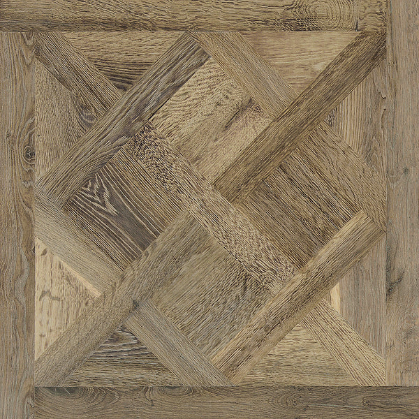 Louis XIV Lorraine French White Oak Hardwood Parquet
