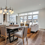 Cosmopolitan Malibu European Oak Hardwood in a contemporary kitchen