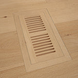Cosmopolitan Naked European Oak Hardwood with matching flush mount vents