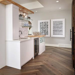 Cosmopolitan Provence European Oak Hardwood in Luxurious Lottery Home