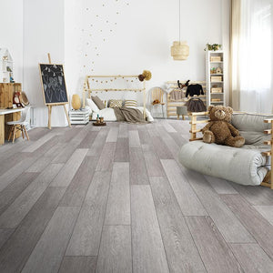 Quest Endless Summer Oak Luxury Vinyl in a cozy open space
