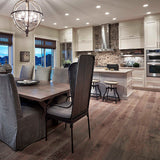 Cosmopolitan Shanghai Sunrise European Oak Hardwood in a luxurious kitchen