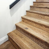 Farmhouse Tenuta Moriano European Oak Hardwood on Stairs