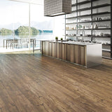 Voyage Barefoot Contessa Oak Luxury Vinyl in Contemporary Kitchen