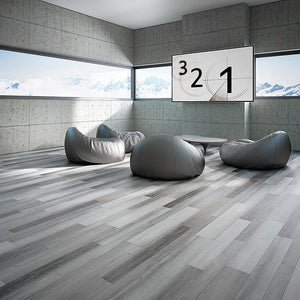 Voyage Getwaway Oak Luxury Vinyl in Bunker
