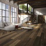 Farmhouse Compiano European Oak Hardwood in an Industrial Loft