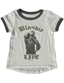 Blondie Girls Ringer Tee